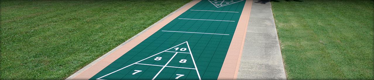 Outdoor Shuffleboard Court Outdoor Shuffleboard